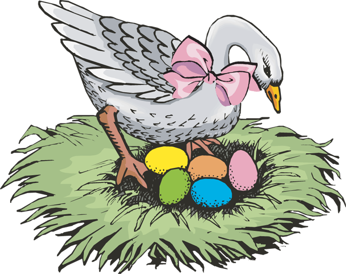 Egg pencil and in. Nest clipart duck nest