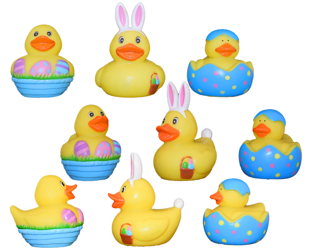 Ducks clipart toy duck. Easter rubber png stock
