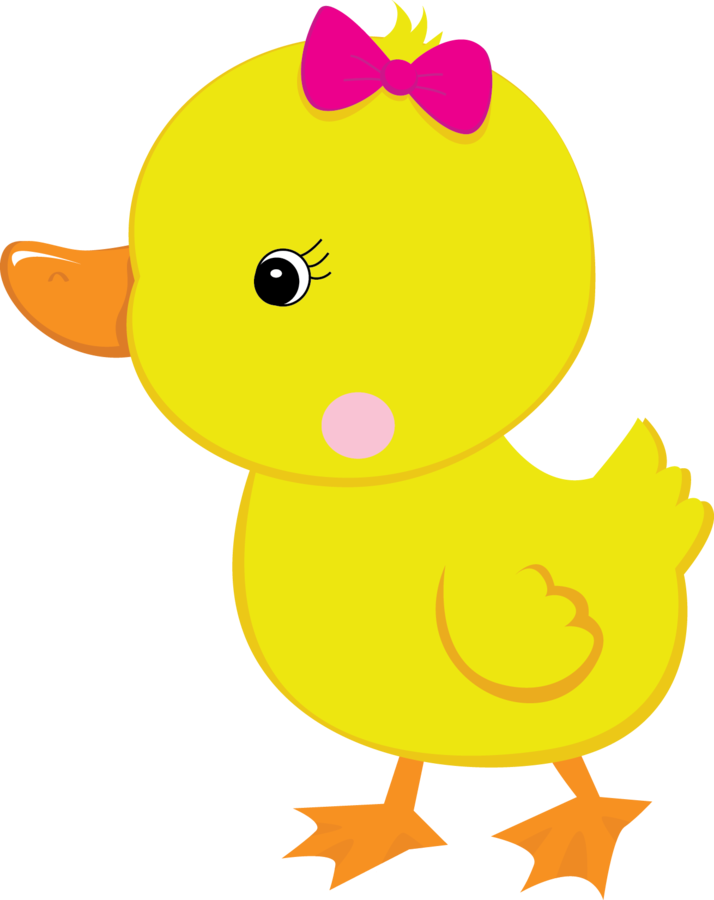 Cute farm for girls. Ducks clipart animated
