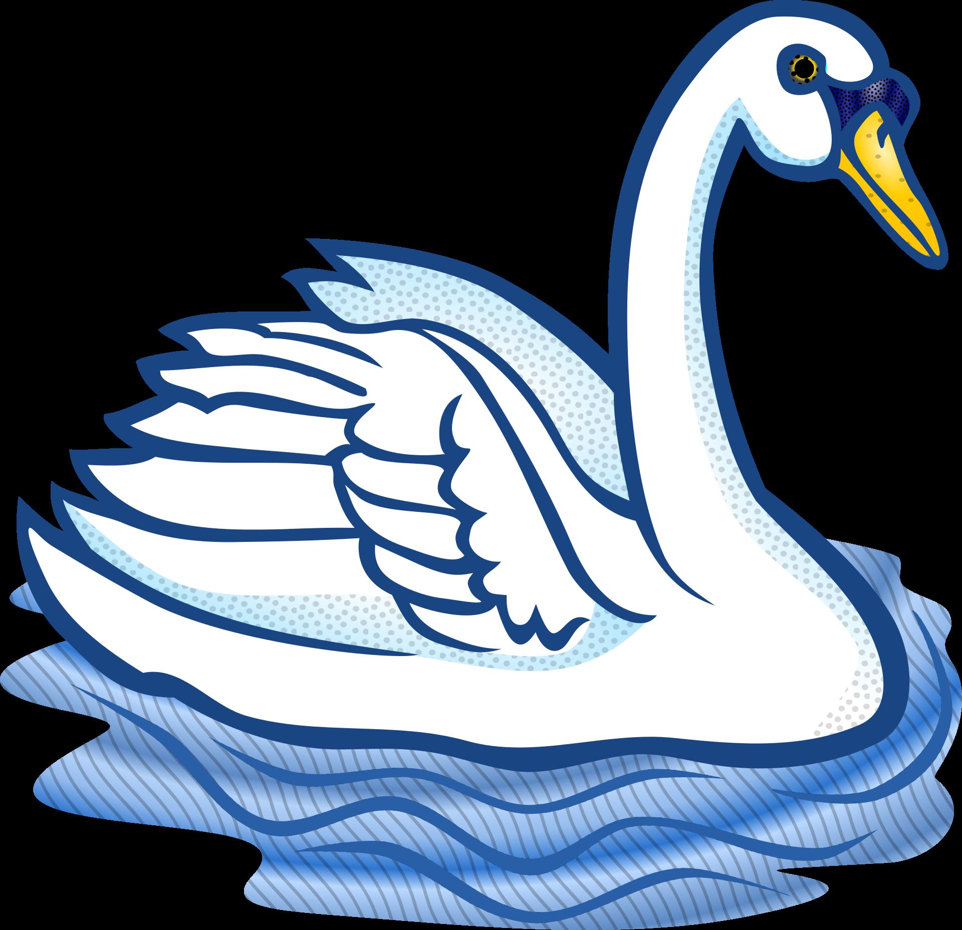 Clipart duck swan. Bird trumpeter clip art