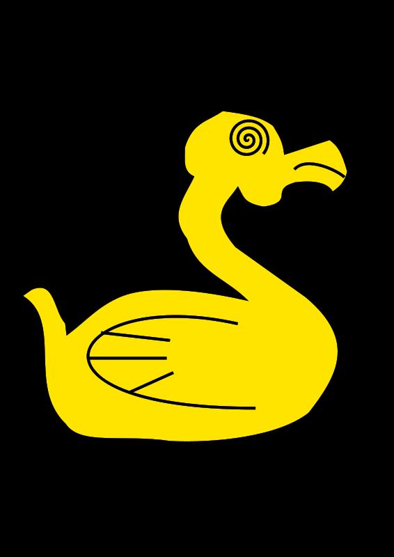 Track clipart duck. Free stock stockio com