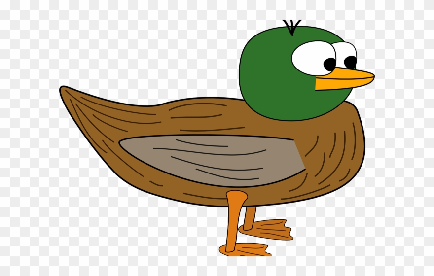 Wings duck cartoon transparent. Duckling clipart wing