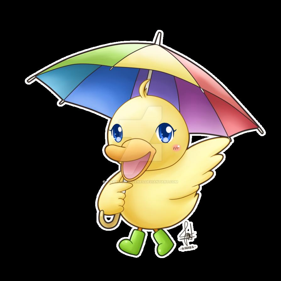 Ducks clipart duc. Commission chibi duck by