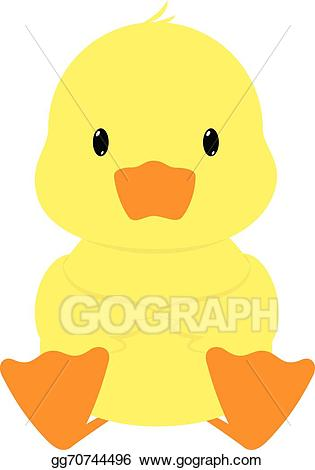 Clipart duck vector. Illustration gg gograph