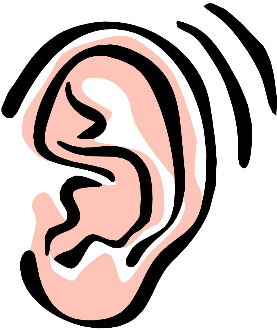 collection of sound. Clipart ear animated