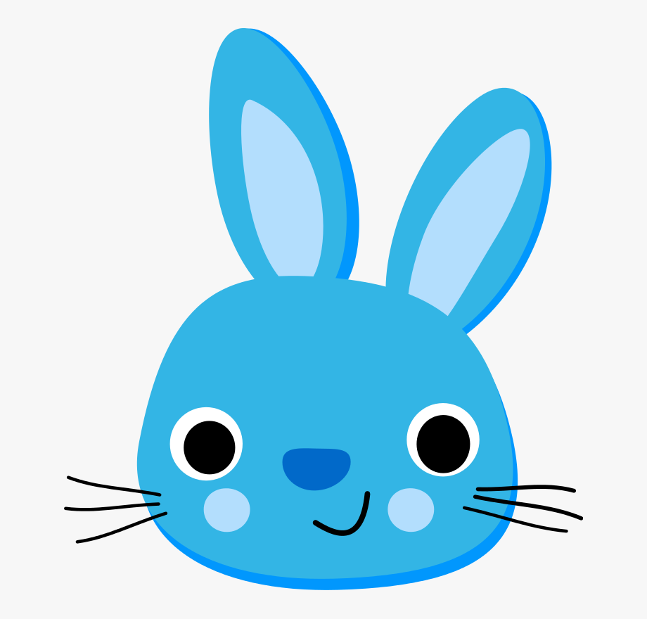Clip art free cliparts. Ears clipart blue bunny