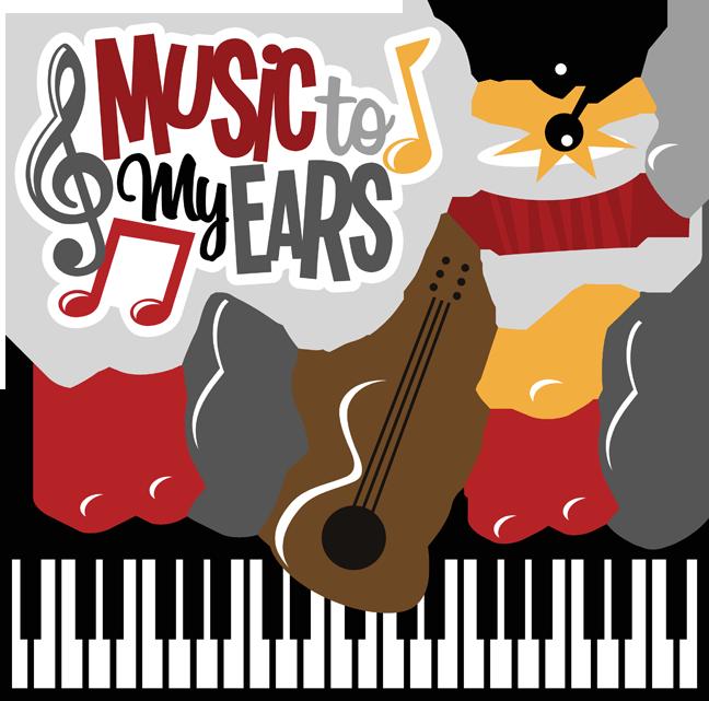 Music to my ears. Ear clipart cute ear
