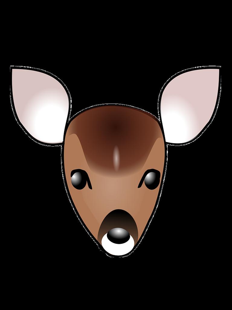 Download clip art transprent. Clipart ear deer