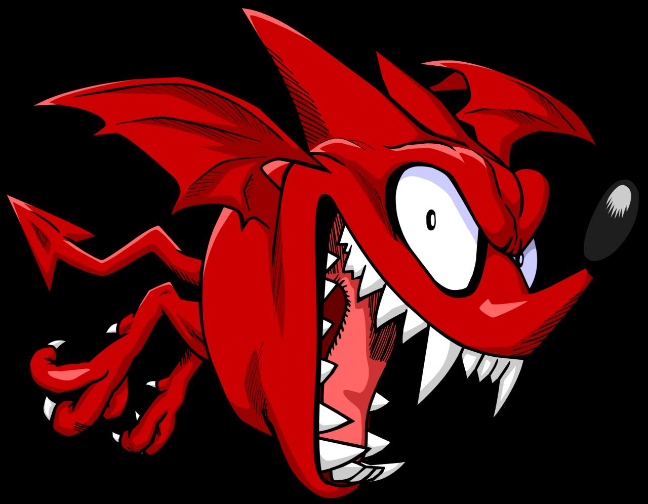 Devil clipart mascot. Bats of eyeshield haaaaaaa