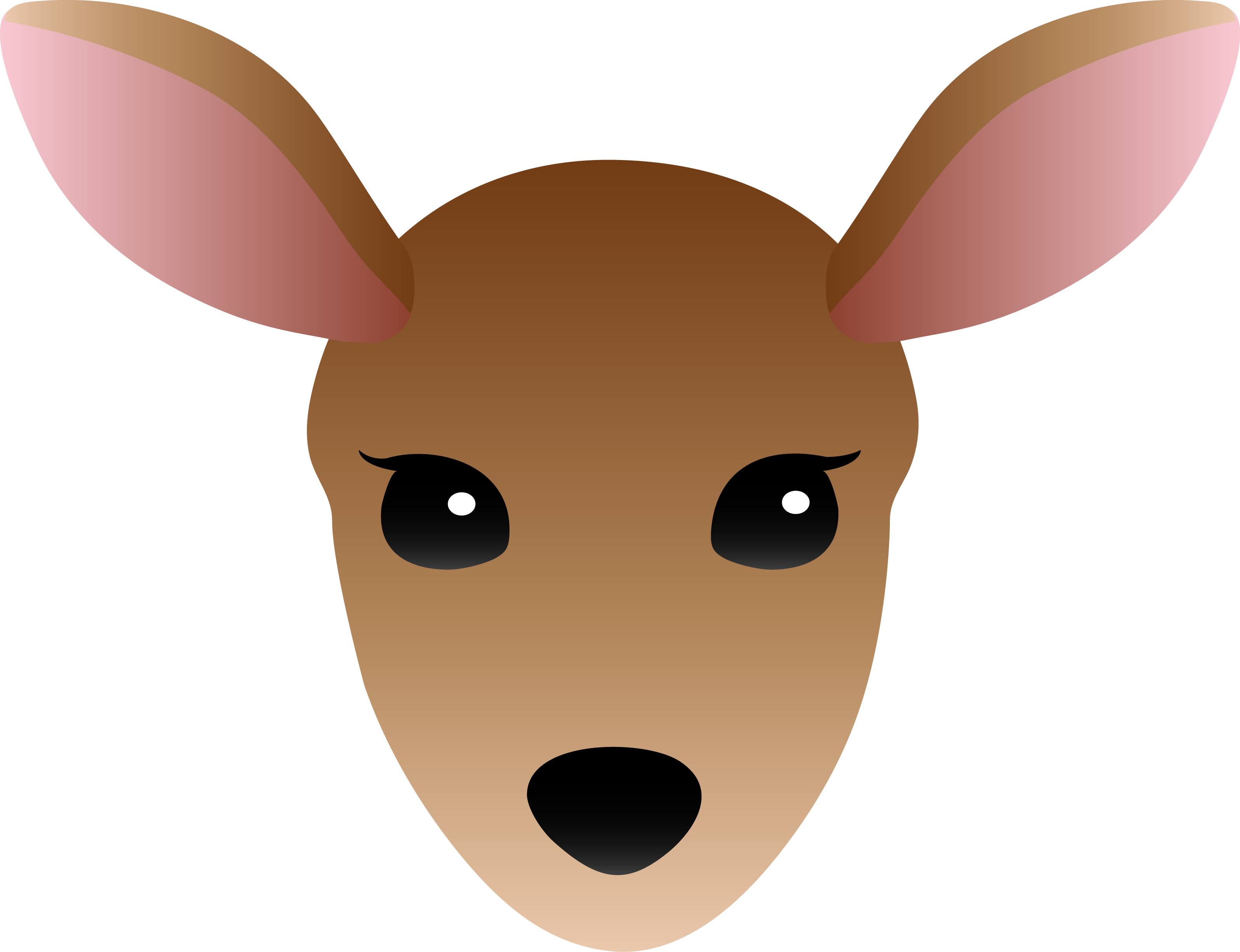collection of ear. Ears clipart deer