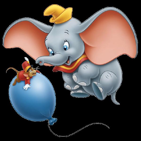 Disney clipart elephant. Dumbo the cartoon clip