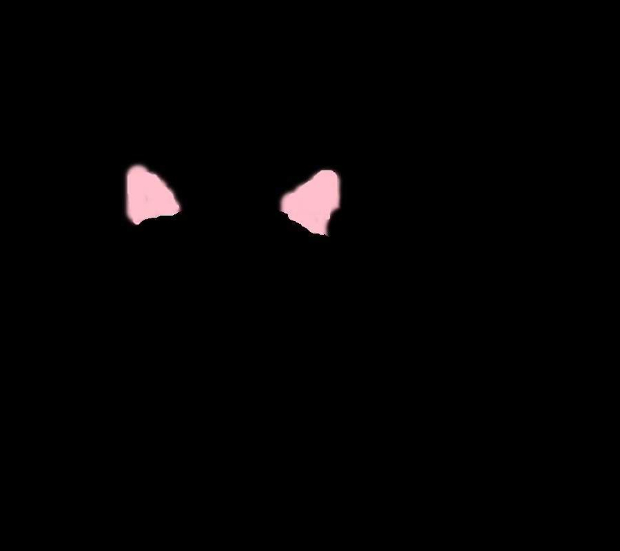 Cat ear kitten clip. Ears clipart oido