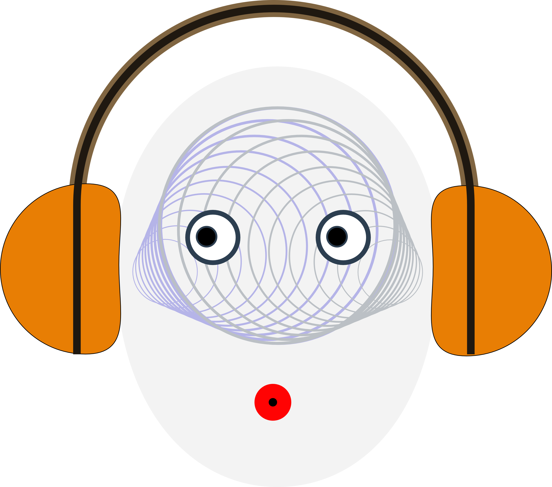 Do binaural beats really. Headphones clipart listening post