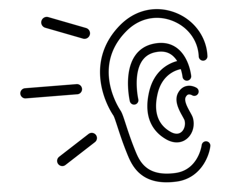 ears clipart empathetic listening