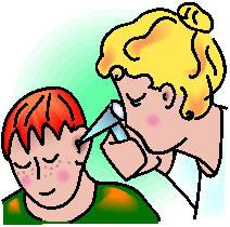 clipart ear exam