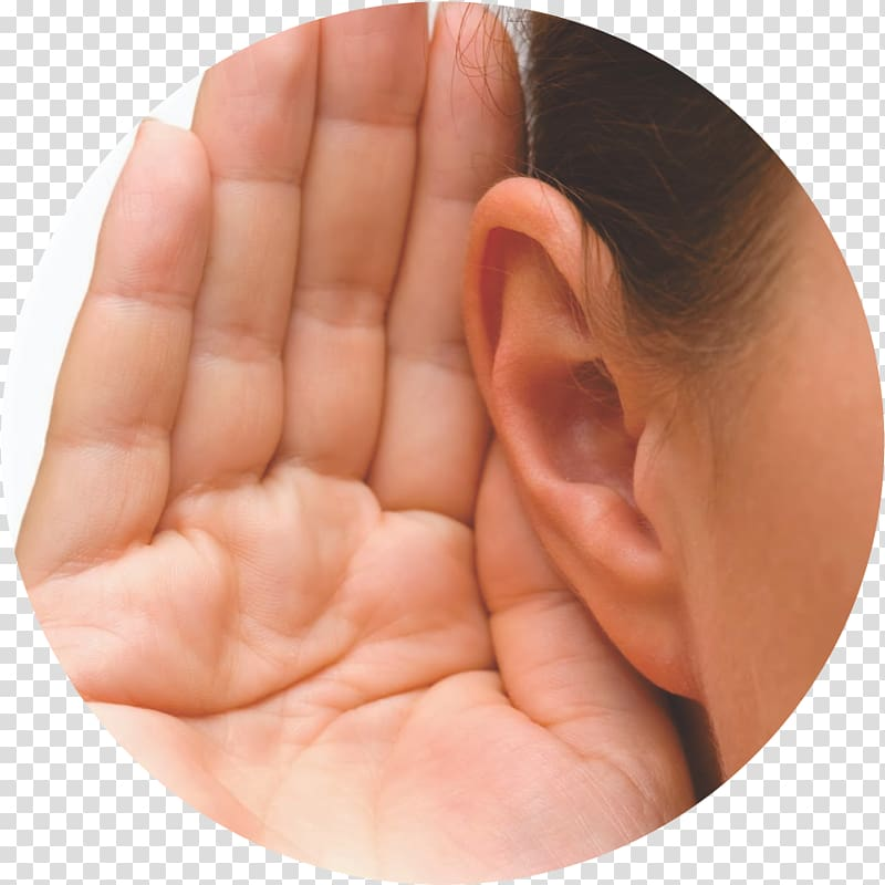 Clipart ear hand. Hearing loss aid transparent