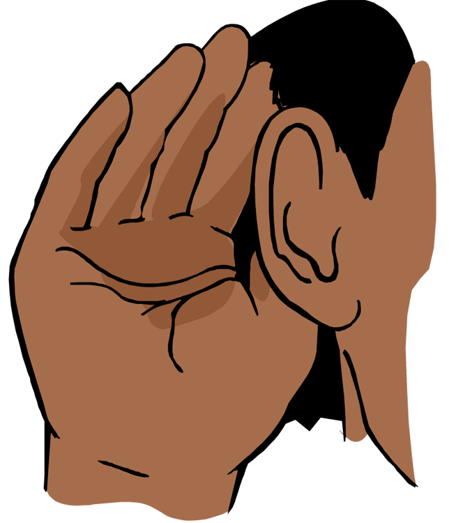collection of to. Clipart ear hand over