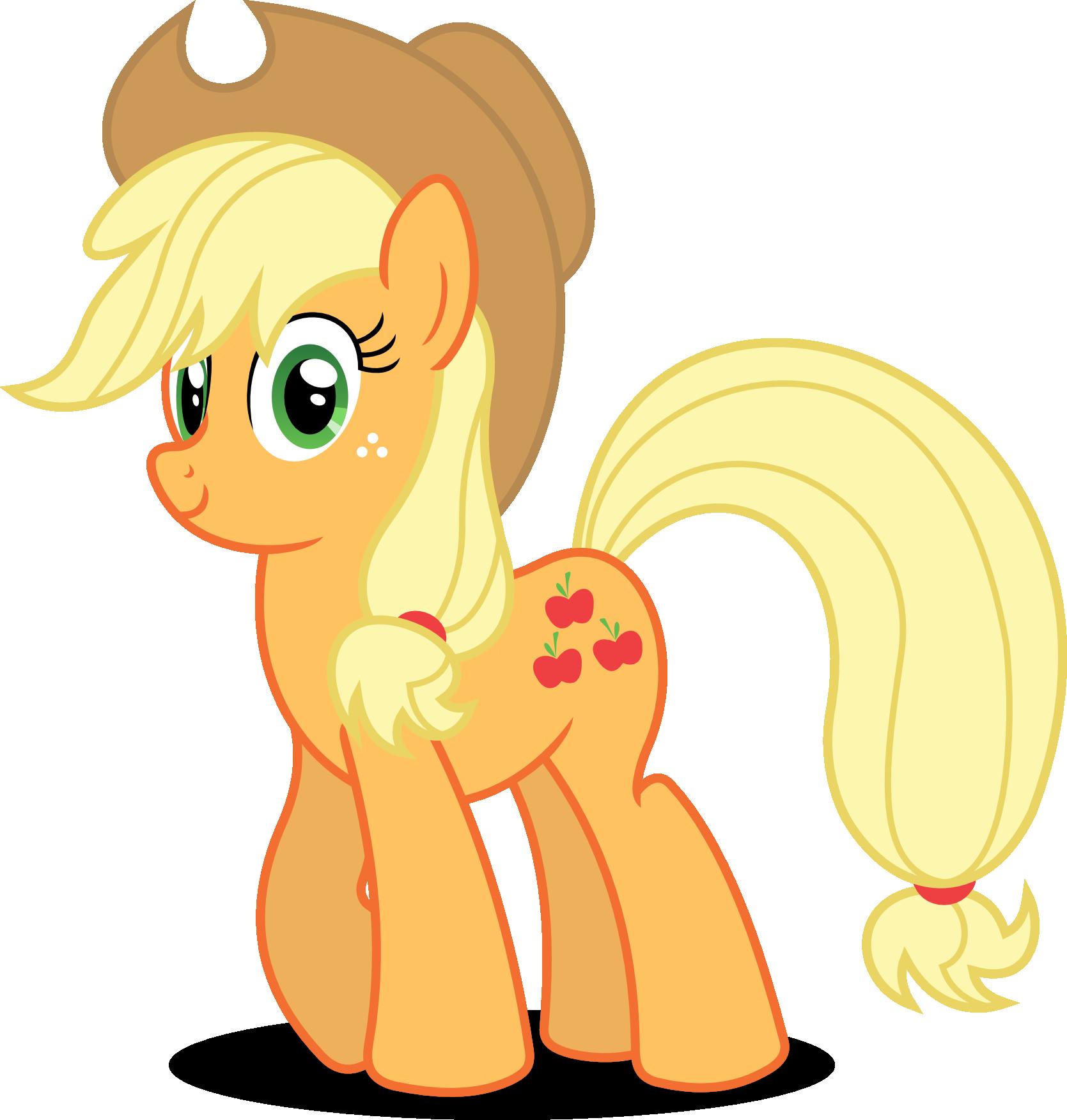 Horse clipart ear. Mlp gd game applejack