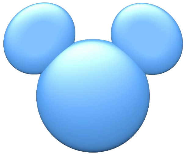 Mickey mouse think on. Clipart ear icon