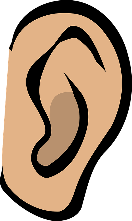 Png hd transparent images. Clipart ear listening