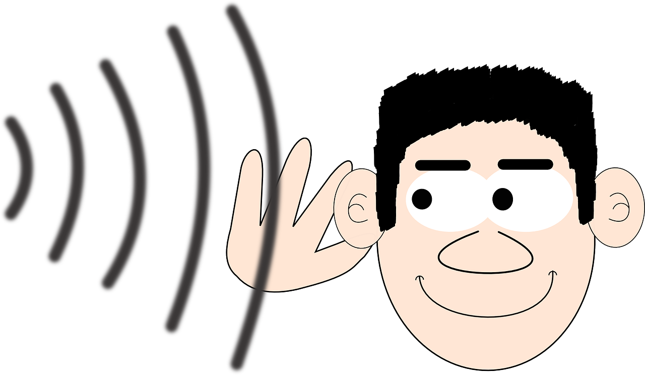 Conductive hearing loss and. Ears clipart auditory