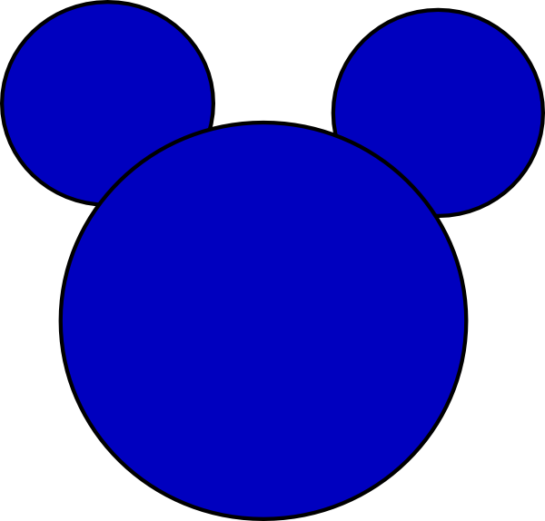 Clipart face mickey mouse. Clip art at clker