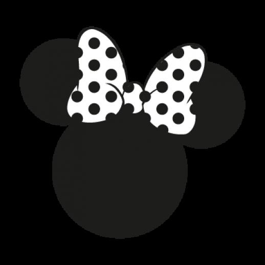 Ears silhouette clip art. Clipart ear minnie mouse
