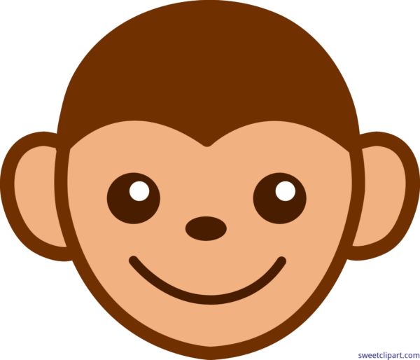 Face silhouette at getdrawings. Monkey clipart baboon