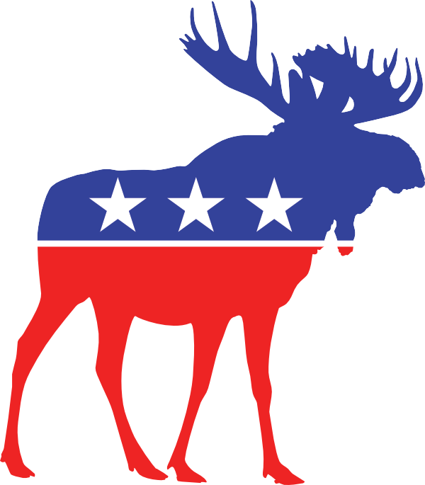 About utah bull party. Moose clipart day canada