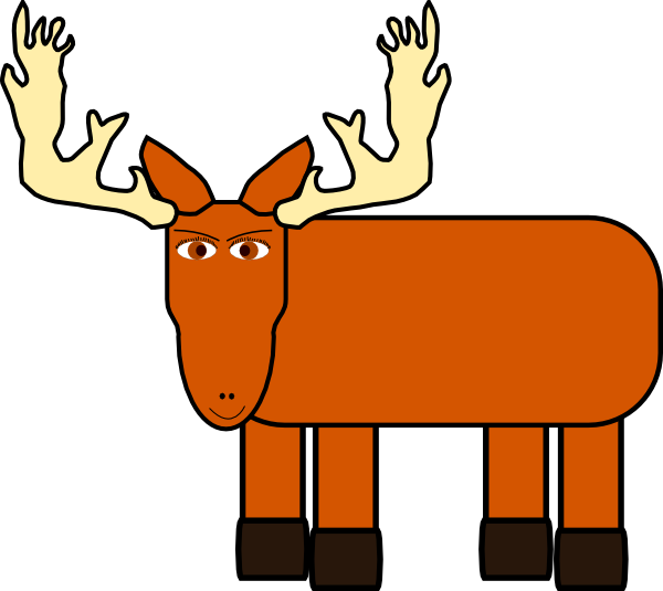 Winter clipart moose. Clip art free panda