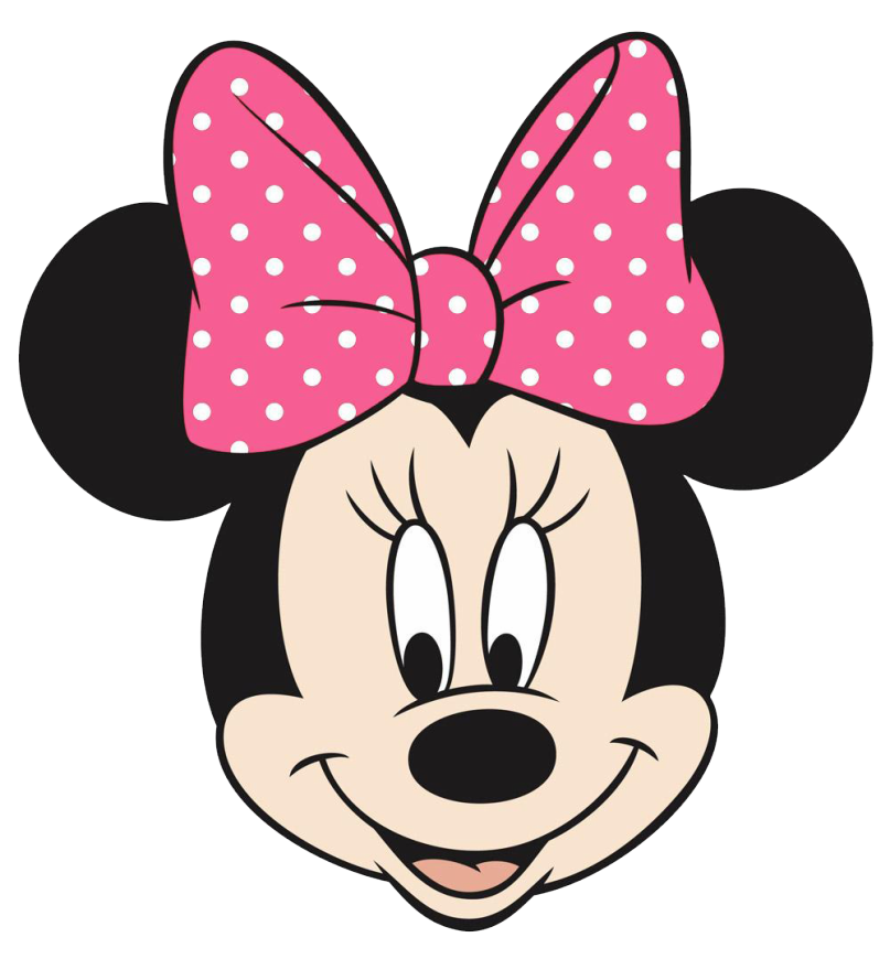 Minnie pink bow crafts. Nest clipart mouse