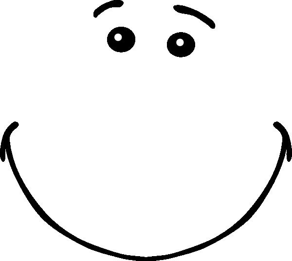 clipart smile head