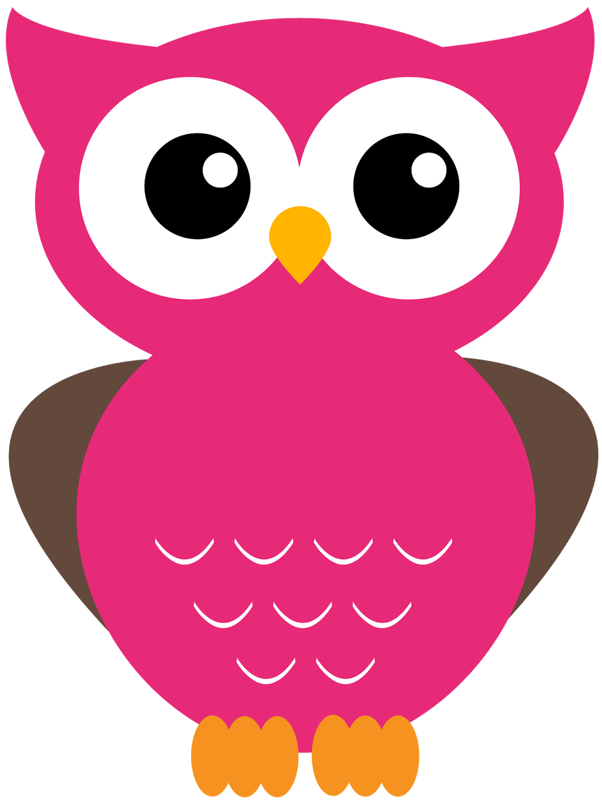 Giggle and print more. Foot clipart owl