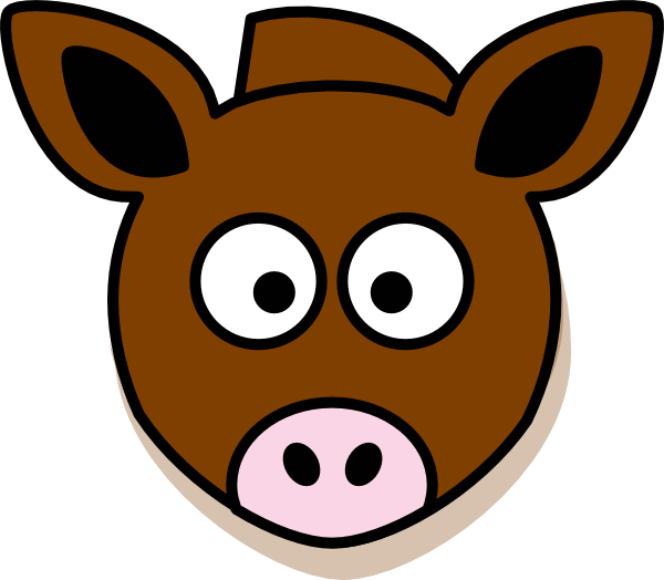 Donkey clip art at. Picture clipart head