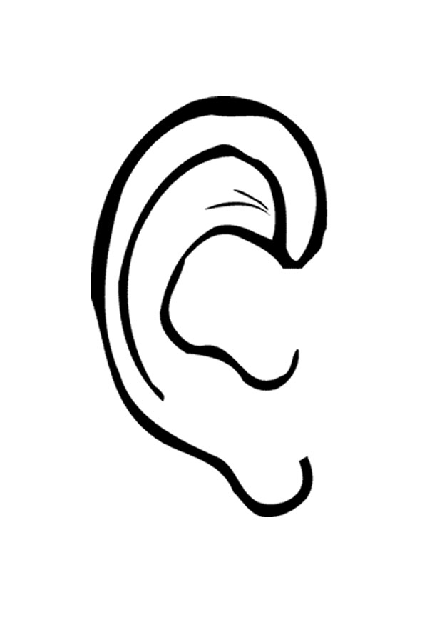 Ears clipart easy. Free printable download clip