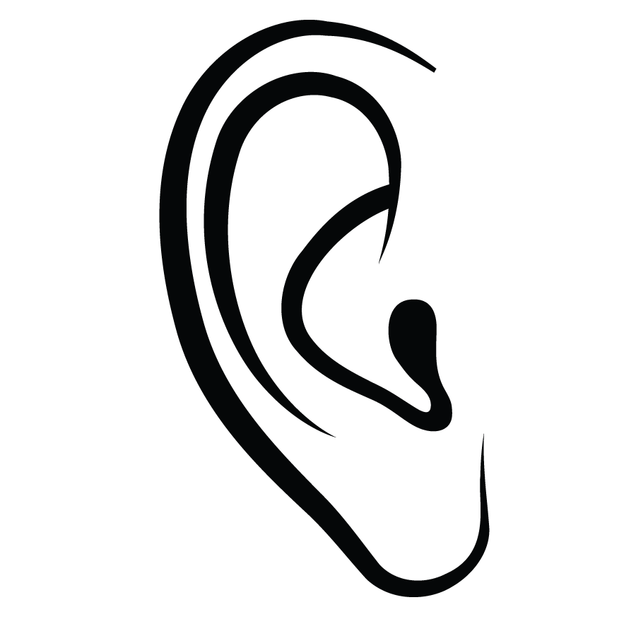 Ears clipart oido. Ear canal computer icons