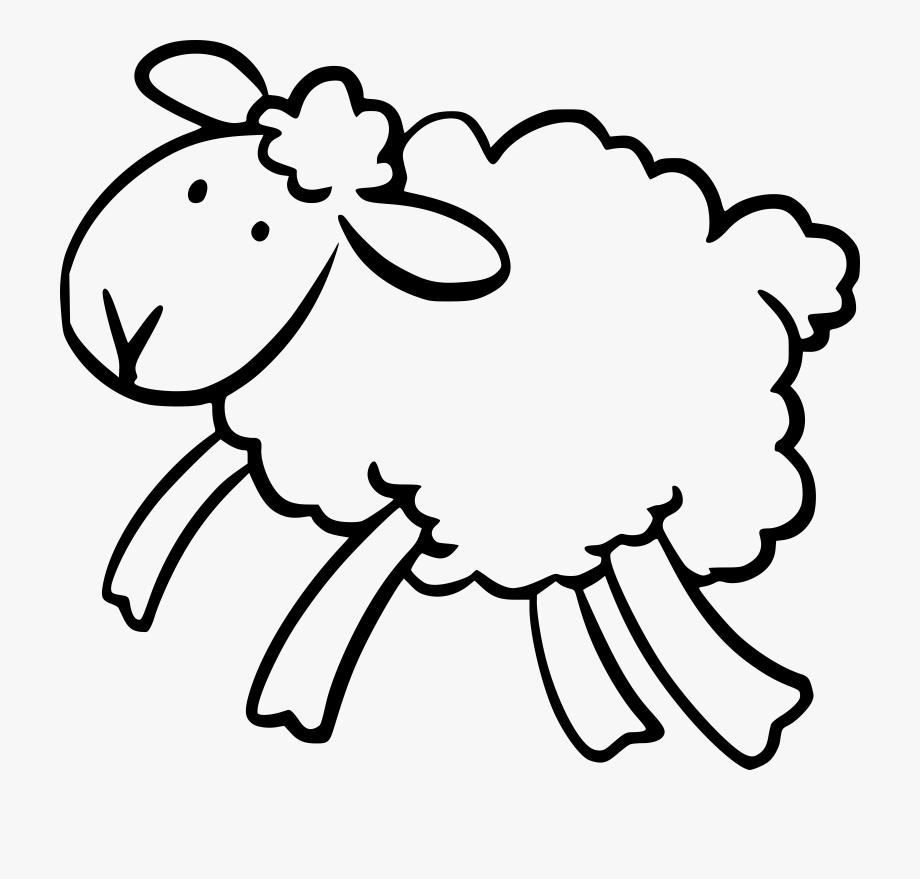 Sheep clipart ear. Ears clip art black