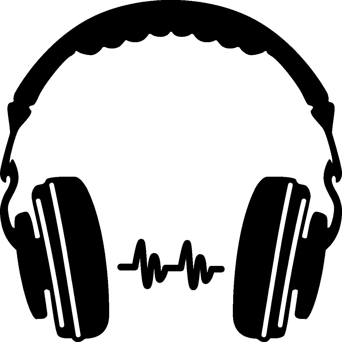 Dj at getdrawings com. Ear clipart silhouette
