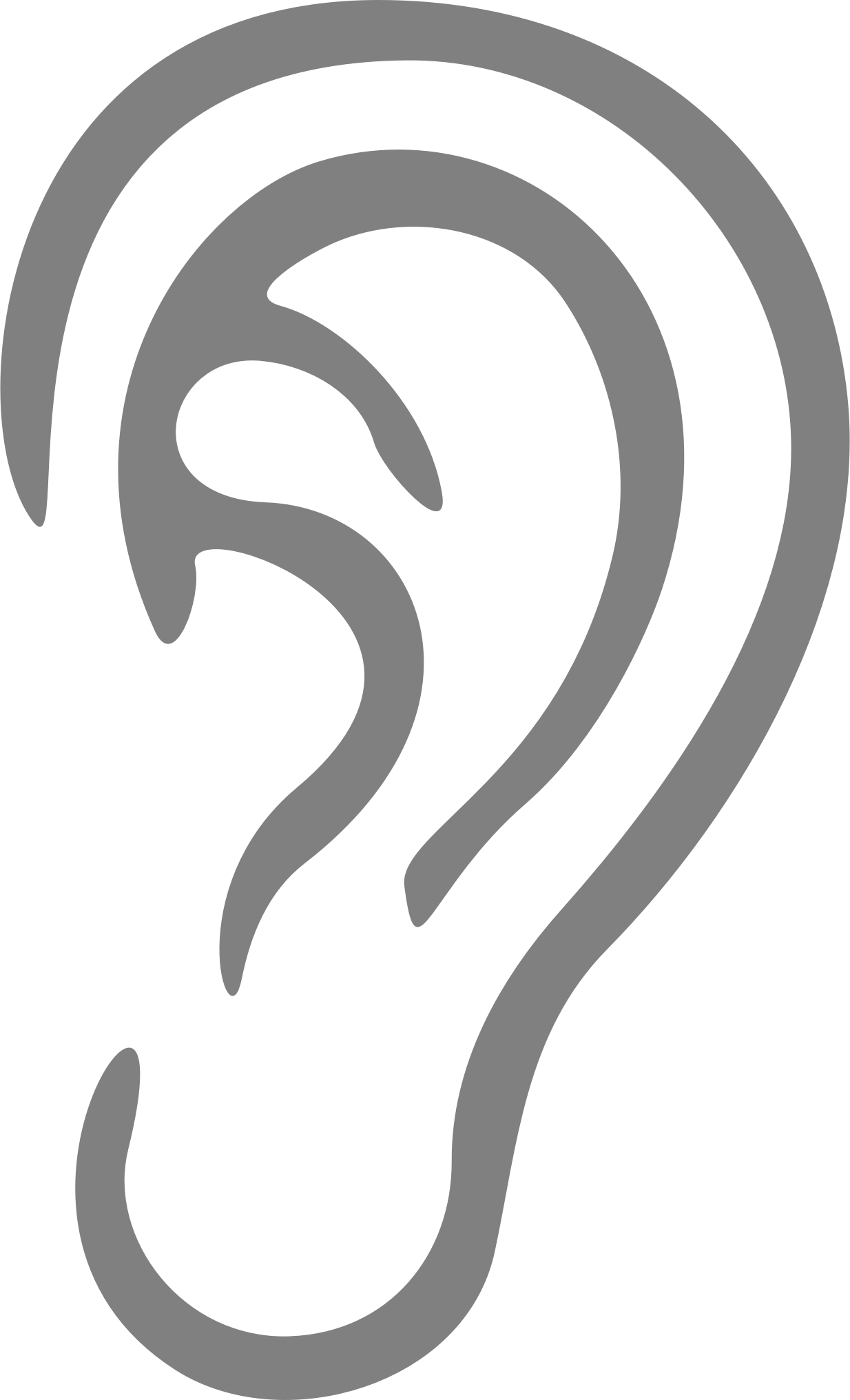 Clipart ear simple. Big image png