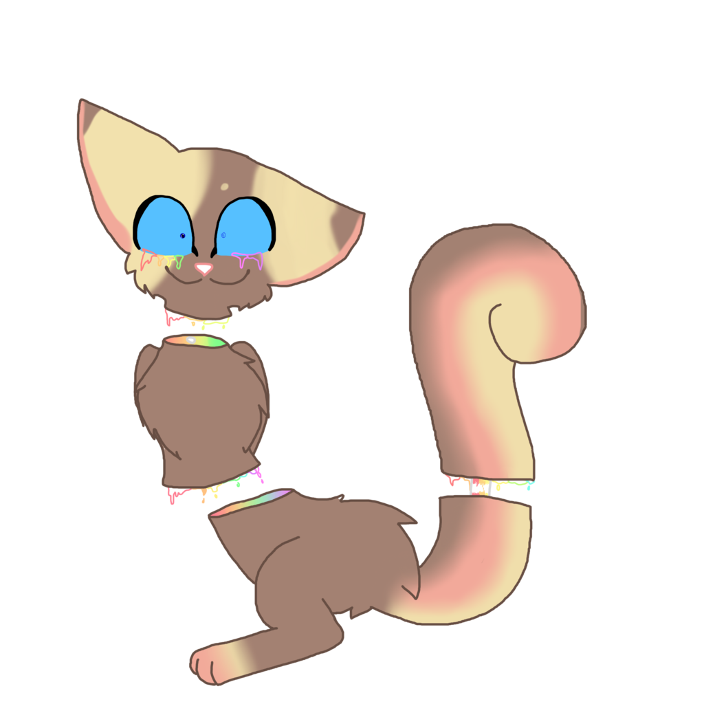 Pastel gore by bunniestears. Clipart ear squirrel