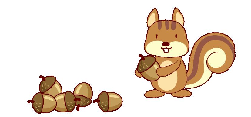 Cartoon clip art loves. Clipart ear squirrel