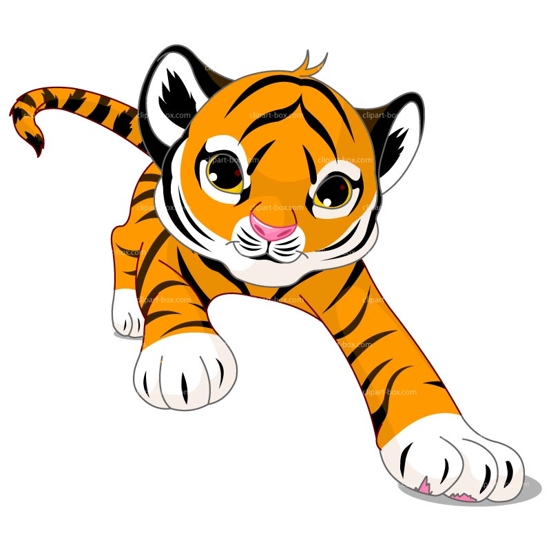 Clipart tiger moving picture. Free best download clip