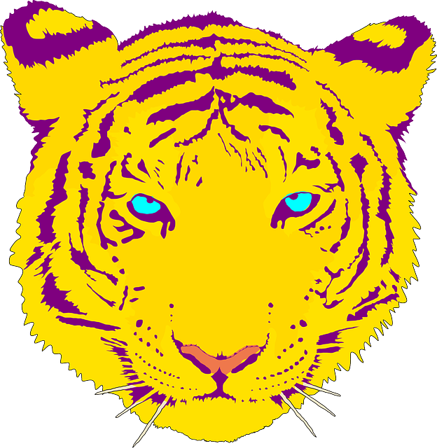 Tigers cool kid facts. Track clipart tiger