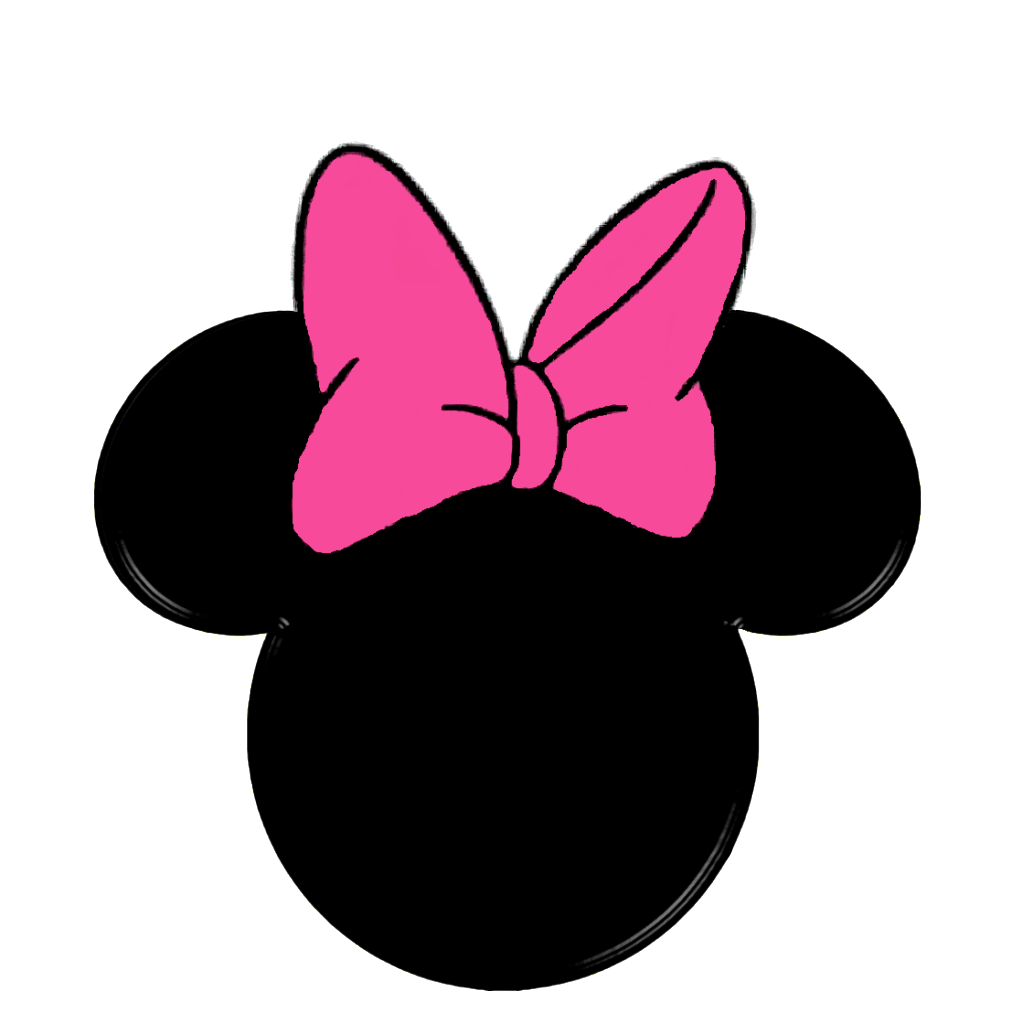 Ribbon ears png transparentpng. One clipart minnie mouse