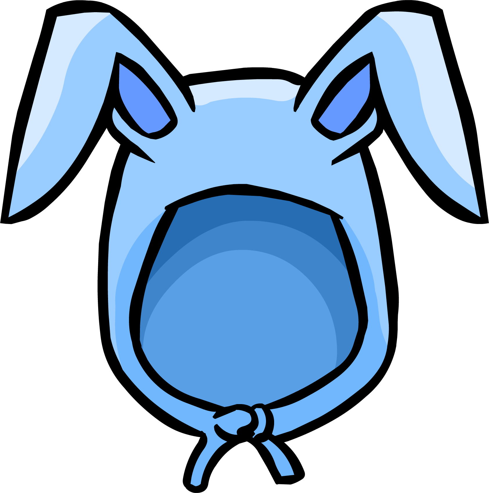 Ear clipart blue bunny. Image ears png club