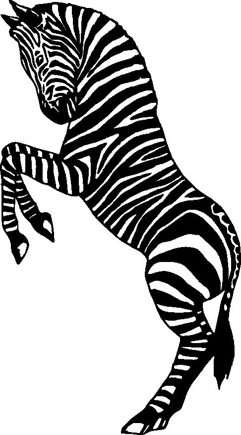 Clipart zebra jpeg. Silhouette clip art panda