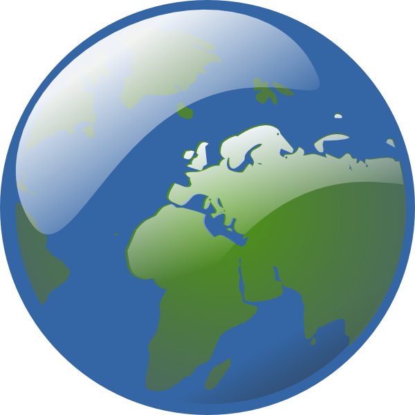 Earth clip art at. Planets clipart animated globe