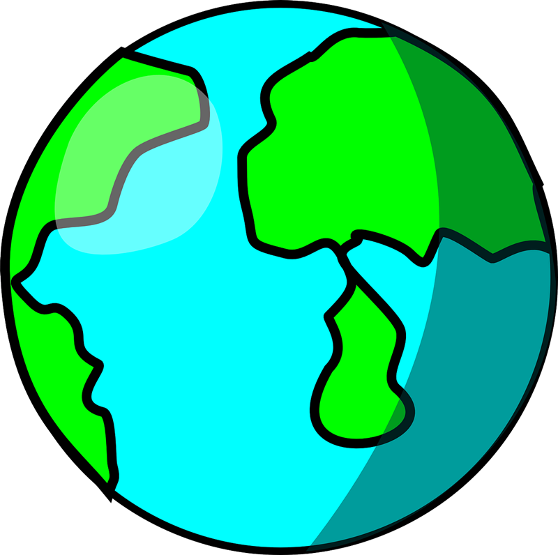 Free to use clip. Clipart earth animated