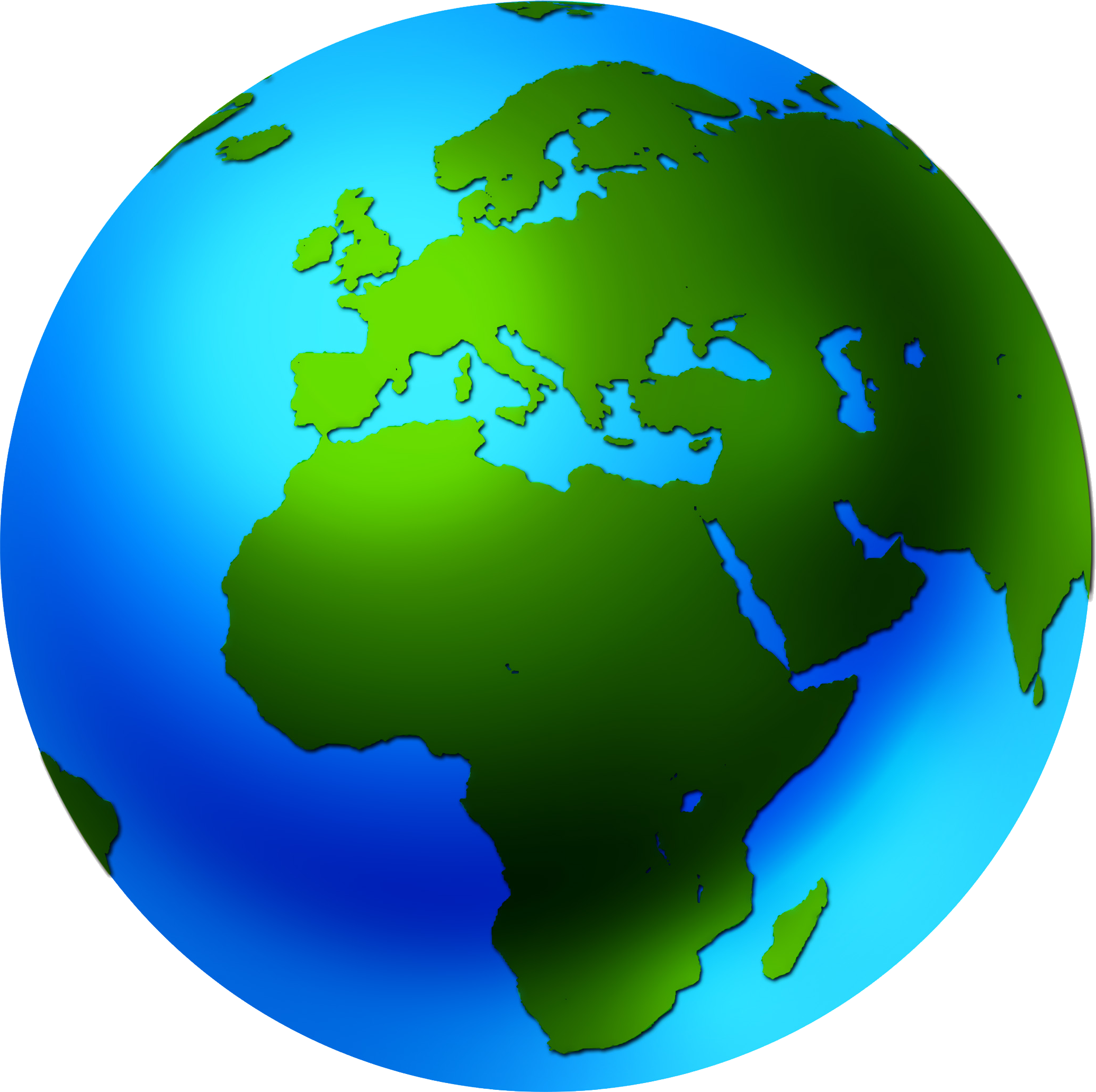 Valuable design ideas globe. Clipart earth animated