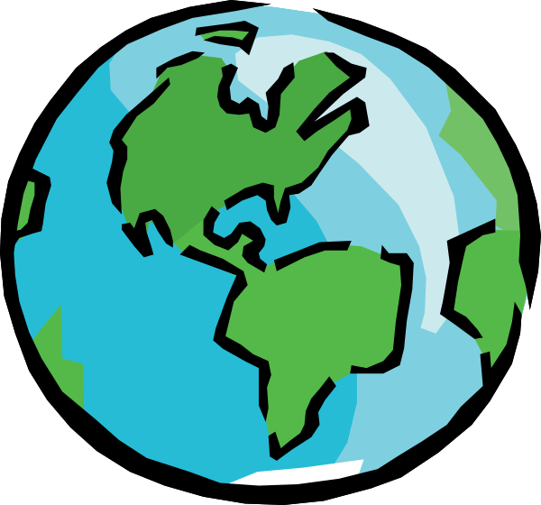World clip art at. Clipart earth animated